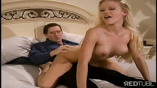Free Porn - Blond Julie Meadows Receives Anal Invasion And Slit Drill