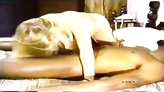 Blondy White Wifey  With Sunless Lover – Homemade Interracial Cuckold Vintage