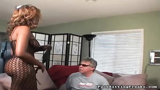 Free Porn - Big-ass Black Having Nice Smothering Action With Mature Sex-slave