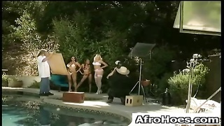 Ebony Black African American Pounded
