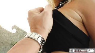 Carla's Attractive Smile Is As Pretty As Her Creampie