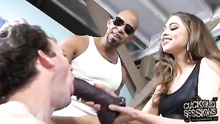 White Cuckold Abasement Monotonous With Riley Reid